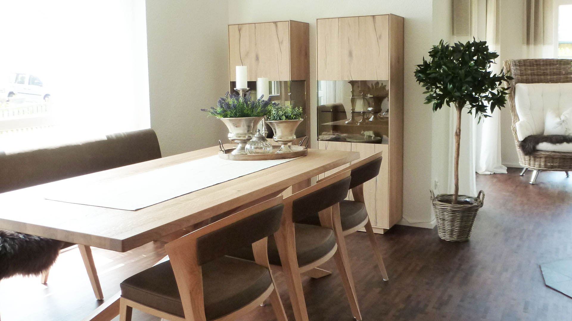 wohn und esszimmer marktgraitz vivere. Black Bedroom Furniture Sets. Home Design Ideas